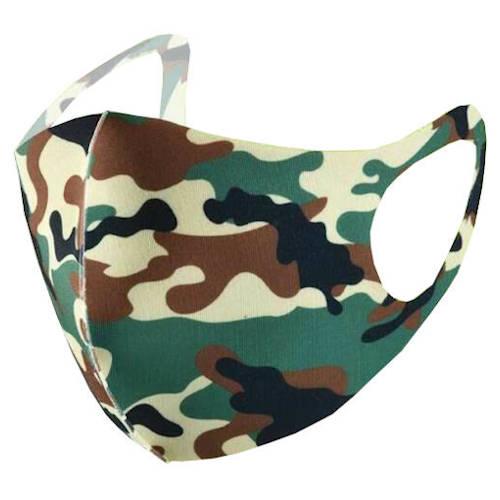 """Extradünne Mund-Nasen-Maske """"Camouflage 5"""" Kinder Gr. 2"""