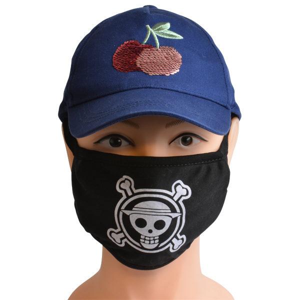 Mundschutzmaske Piraten