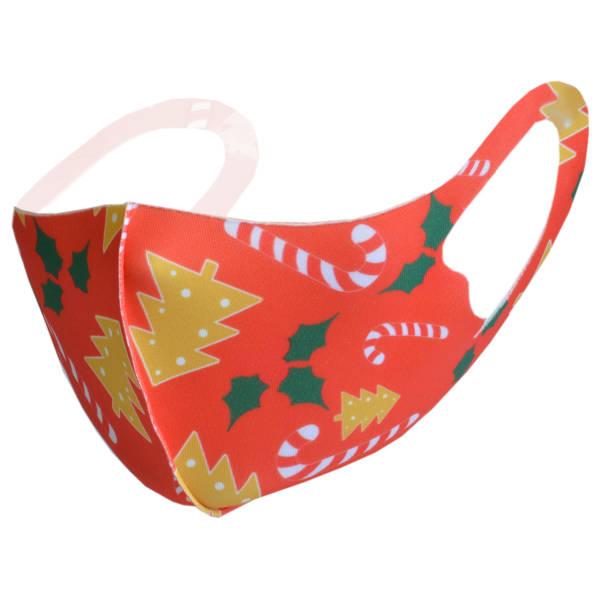 """Elastische Mundnasenmaske """"Weihnachten 1"""" Kinder Gr.2"""
