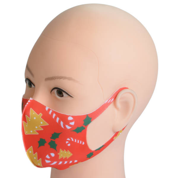 Mund-Maske aus Stoff für Erwachsene   Weihnachten 1
