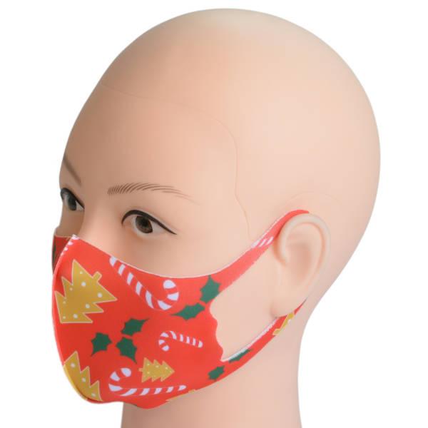 Mund-Maske aus Stoff für Erwachsene | Weihnachten 1