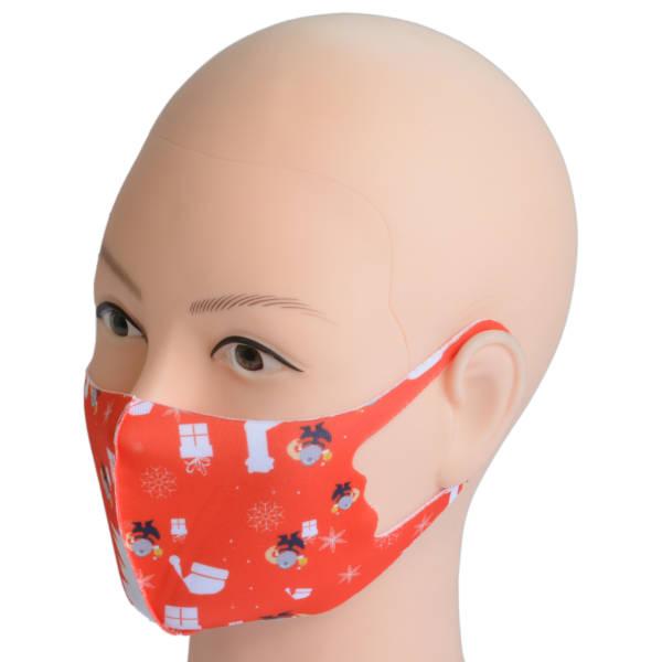 Mundschutz-Maske aus Stoff für Erwachsene | Weihnachten 3