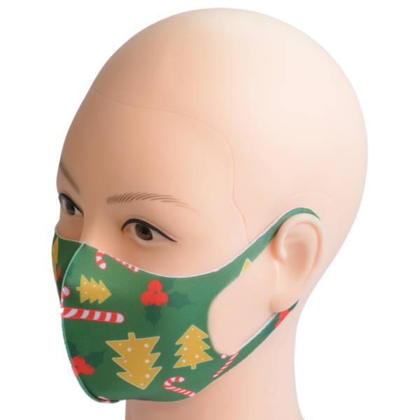 Nasen-Mund-Maske aus Stoff für Erwachsene   Weihnachten 4