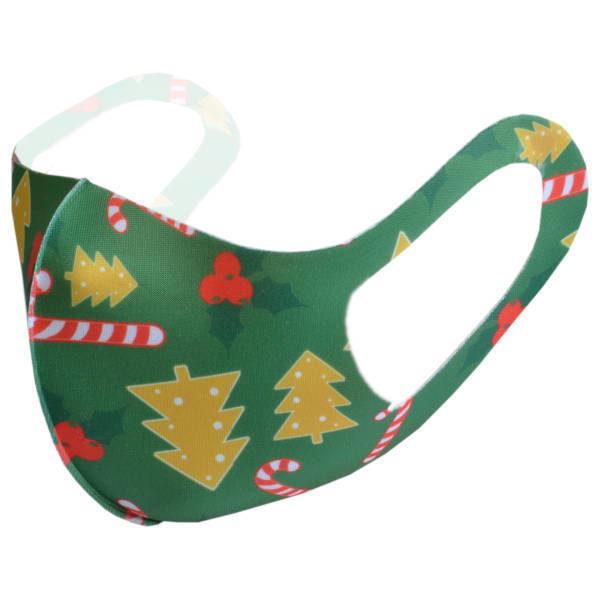 Nasen-Mund-Maske aus Stoff für Erwachsene | Weihnachten 4